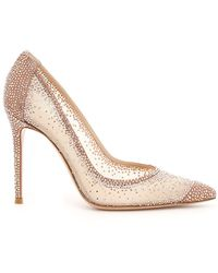 Gianvito Rossi - Rania Studded Pumps - Lyst