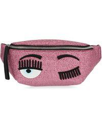 Chiara Ferragni Flirting Belt Bag - Pink