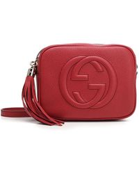 Gucci Soho Shoulder Bag - Red