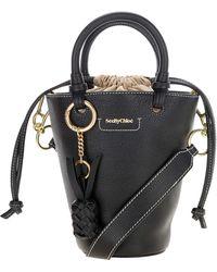 See By Chloé Cecilya Small Bucket Bag - Black
