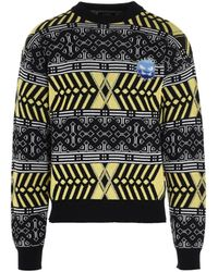 Rassvet (PACCBET) Pattern Intarsia Knit Jumper - Multicolour