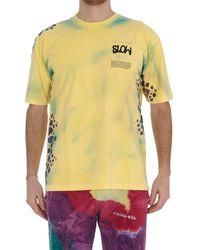 Mauna Kea Outsiders Tie-dye Detailed T-shirt - Yellow
