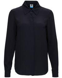M Missoni Silk Blend Shirt - Blue