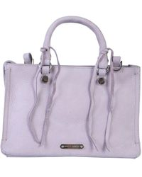 Rebecca Minkoff Regan Satchel Bag - Purple