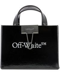 Off-White c/o Virgil Abloh Baby Box Mini Tote Bag - Black