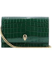"Alexander McQueen ""skull"" Mini Shoulder Bag - Green"