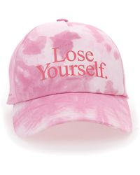 Paco Rabanne Lose Yourself Tie-dye Baseball Cap - Pink