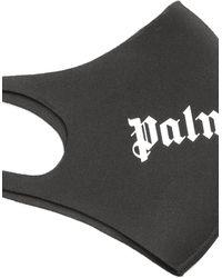 Palm Angels Logo Face Mask - Black