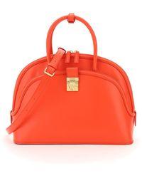 MCM Anna Large Bag - Red