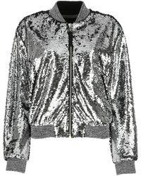 Golden Goose Deluxe Brand Sequins Bomber Jacket - Metallic