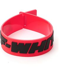 Off-White c/o Virgil Abloh Industrial Bracelet - Red