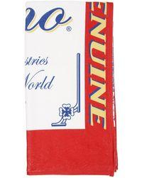Moschino X Budweiser Beach Towel - Red