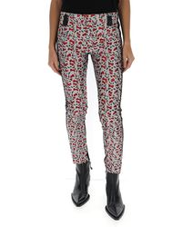 Haider Ackermann Mid-rise Contrast Panel Trousers - Multicolour