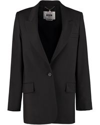 MSGM Classic Blazer - Black