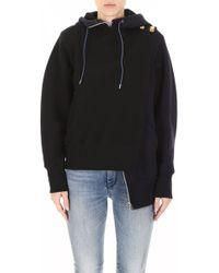 Sacai - Panelled Sweatshirt - Lyst