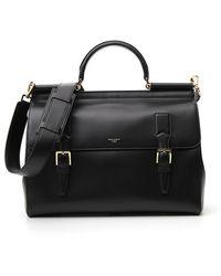 Dolce & Gabbana Monreale Travel Bag - Black