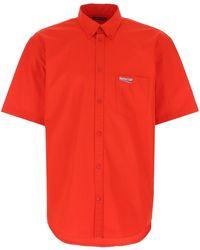 Balenciaga Campaign Shirt - Red