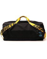 Off-White c/o Virgil Abloh Industrial Strap Duffle Bag - Black