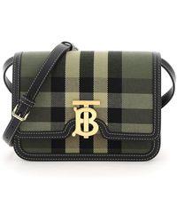 Burberry Small Logo Plaque Crossbody Bag - Multicolour