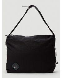 OAMC Inflated Messenger Bag - Black
