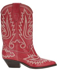 Isabel Marant Duerto Boots - Red