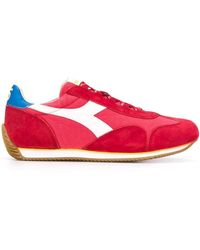 Diadora Equipe Low-top Trainers - Red