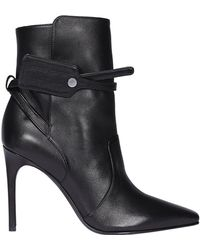 Off-White c/o Virgil Abloh Pointed Toe Boots - Black