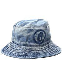 MM6 by Maison Martin Margiela Denim Bucket Hat - Blue