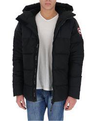 Canada Goose Hybridge Down Coat - Black