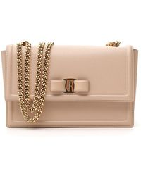 Ferragamo - Bow Chain Bag - Lyst
