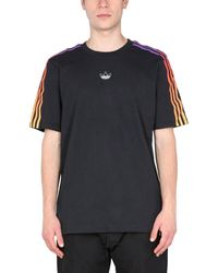adidas Originals Sprt 3-stripes T-shirt - Black