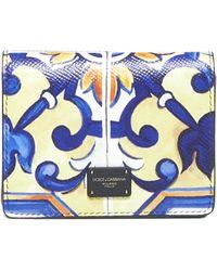 Dolce & Gabbana Multiprint Mini Bag - Blue