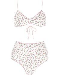 Oséree Floral Printed Bikini - Multicolour
