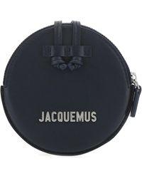 Jacquemus Le Pitchou Mini Crossbody Bag - Blue