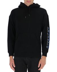 Givenchy Faded Logo Hoodie - Black