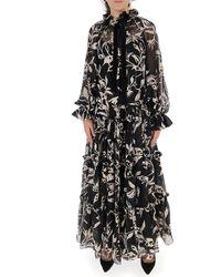 Zimmermann Ladybeetle Swing Long Dress - Black