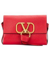 Valentino Vring Belt Bag - Red