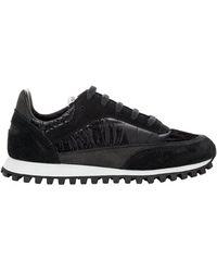 Comme des Garçons X Spalwart Pitch Panelled Sneakers - Black