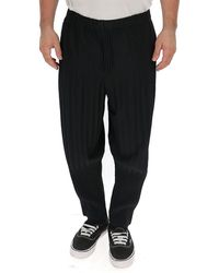Homme Plissé Issey Miyake Pleated Pants - Black