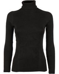 Reebok X Victoria Beckham Roll Neck Sweater - Black