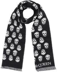 Alexander McQueen Allover Skull Scarf - Black