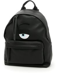 Chiara Ferragni - Eye Applique Backpack - Lyst