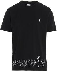 Marcelo Burlon Tribe T-shirt - Black