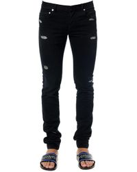 Dior Homme - Ripped Skinny Jeans - Lyst
