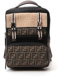 Fendi Ff Monogram Backpack - Multicolor