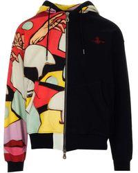 Vivienne Westwood Multicolour Jersey Hoodie