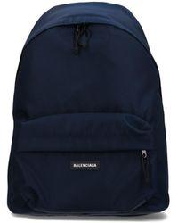 Balenciaga Explorer Backpack - Blue