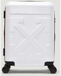 Off-White c/o Virgil Abloh Arrows Luggage - White