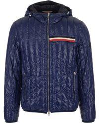 Moncler - Stripe Padded Jacket - Lyst