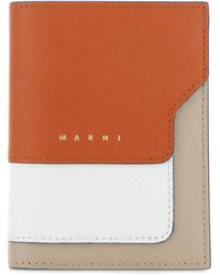 Marni Multicolor Leather Wallet Nd